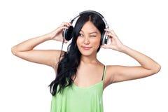 La musique me rend idiot Photo stock