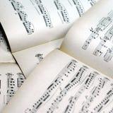 La musique note le fond image libre de droits