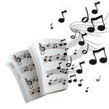 La musique note le vecteur illustration libre de droits