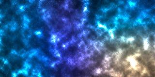 La nébuleuse dans l'espace illustration libre de droits