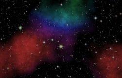 La nébuleuse dans l'espace extra-atmosphérique illustration de vecteur