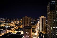 LA nachts Stockfoto
