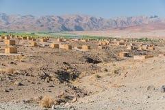 La Namibia - fiume arancio Fotografia Stock