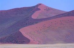 La Namibia, parco nazionale di Namib-Naukluft Fotografia Stock