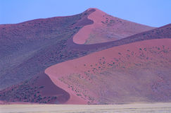 La Namibie, parc national de Namib-Naukluft Photographie stock