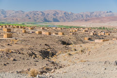 La Namibie - rivière orange Photo stock