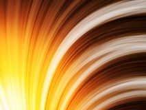 La naranja de Brown amarillo agita el fondo en negro Imagen de archivo