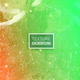 La naranja verde texturizó el ejemplo del diseño del vector del fondo Foto de archivo libre de regalías