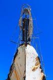 La nariz del barco el cielo imagen de archivo