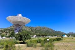 La NASA complexe de communications d'espace lointain de Madrid Photos libres de droits