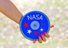 La NASA prepara i nuovi lanci dello spazio fotografie stock libere da diritti