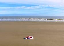 La natation allée de Santa Image libre de droits
