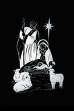 La natividad de la Navidad Fotografía de archivo libre de regalías