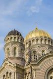 La natività della cattedrale Riga di Cristo Immagini Stock