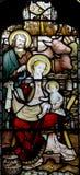 La nativité : naissance de Jésus Photographie stock libre de droits
