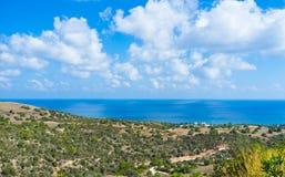 La natura del Cipro Fotografia Stock Libera da Diritti