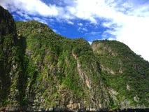 La natura dell'isola Phi Phi thailand fotografie stock libere da diritti
