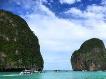 La natura dell'isola Phi Phi thailand Immagini Stock Libere da Diritti