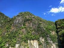 La natura dell'isola Phi Phi thailand fotografie stock