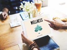 La natura di buona salute di forma fisica di energia di benessere si rilassa il concetto fotografia stock libera da diritti