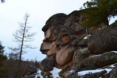 La naturaleza de la región 9 de Krasnoyarsk foto de archivo libre de regalías