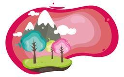 La naturaleza es dulce libre illustration