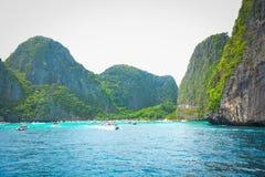 La naturaleza hermosa en Phi Phi Island, Tailandia foto de archivo libre de regalías