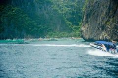 La naturaleza hermosa en Phi Phi Island, Tailandia imagen de archivo libre de regalías