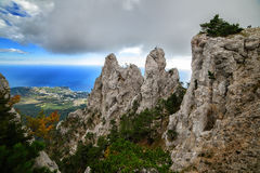 La naturaleza magnífica de la Crimea Fotos de archivo