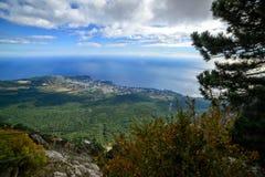 La naturaleza magnífica de la Crimea Foto de archivo libre de regalías