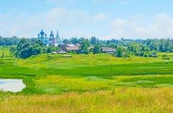 La naturaleza pintoresca de Suzdal Fotografía de archivo libre de regalías