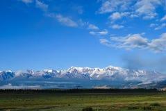 La naturaleza virginal de Altai - Siberia AKTRU imagen de archivo