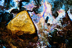 La nature abstraite arrosent toujours Photographie stock libre de droits