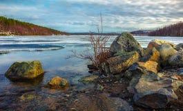La nature du nord au printemps Images stock