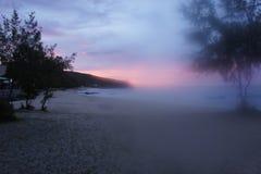 La nature exceptionnelle de l'île de Rodriguez, située au milieu de l'Océan Indien photos libres de droits