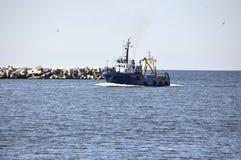 La nave Fotografia Stock
