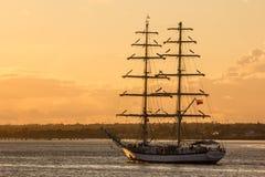 La nave alta de Dublín compite con 2012 Imágenes de archivo libres de regalías