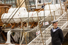 La nave alta de Dublín compite con 2012 fotos de archivo