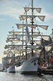 La nave alta de Gloria del ARCO en el puerto de Ijhaven Imagenes de archivo