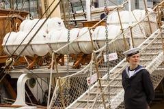La nave alta di Dublino corre 2012 fotografie stock