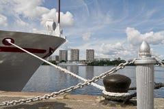 La nave amarrada Fotos de archivo