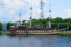 La nave ammiraglia Fotografia Stock Libera da Diritti