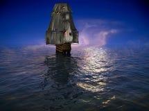 La nave antica royalty illustrazione gratis