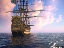 La nave antica Fotografia Stock
