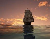 La nave antica Immagine Stock Libera da Diritti