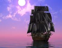 La nave antica illustrazione vettoriale