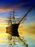 La nave antica Fotografie Stock