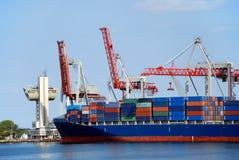 La nave da carico Immagini Stock
