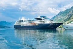 La nave da crociera Fotografia Stock