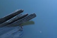 La nave de madera quebrada Foto de archivo libre de regalías